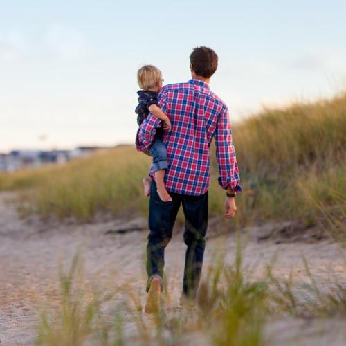 standwandeling-vader-en-zoon